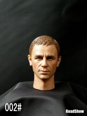 RoadShow 1/6 NO. 002  Daniel Craig headsculpts