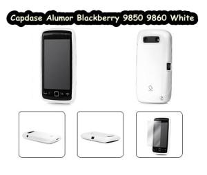 Capdase Alumor Blackberry Monza 9850 9860 White