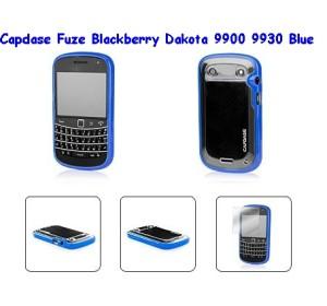 Capdase Fuze Blackberry Dakota 9900 9930 blue
