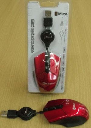 Mouse Tarik - 2 Warna (Black, Red)