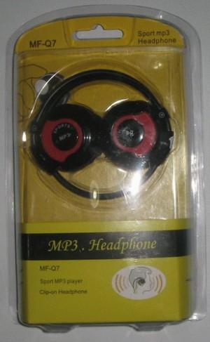 MF-Q7 : Sport MP3 Headphone
