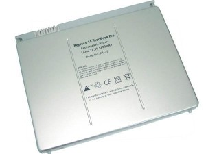 "Baterai APPLE MacBook Pro 15"" Lithium Polymer A1175 ( OEM ) - Silver"