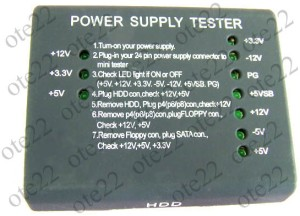 Alat Pendeteksi Kerusakan PSU ( Power Supply Unit )