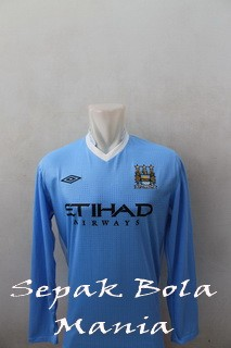 Jersey Man.City Home LS 11/12