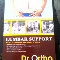Korset Lumbar Support Dr Ortho Size L