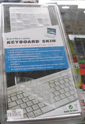 Keyboard protector rangka For Acer 4732