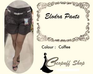 CODE : Elodra Pants Coffee