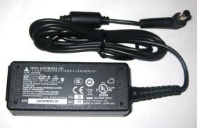 Delta (ASUS) 19V 2.1A for netbook - Standard Plug - Black
