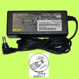 Fujitsu 19V 3.16A Plug standard - Black