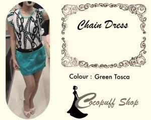 CODE : Chain Dress Tosca
