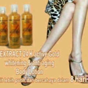 Body Lotion Gold Collagen +AHA