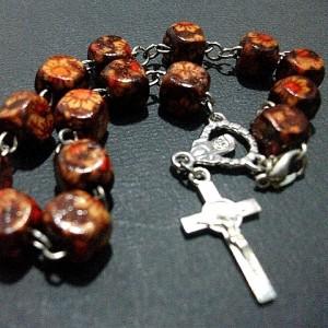 Gelang Rosario Batik Kayu Kotak - BKK