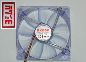AKASA LED 12cm CASE FAN