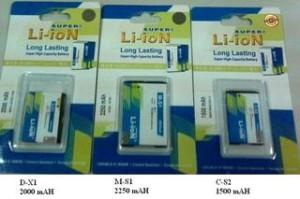 Baterei, Batere, Baterai Highcapacity & Double IC Blackberry D-X1