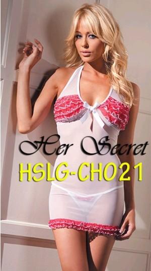 (HSLG-CH021) Sexy Ruffle Lingerie