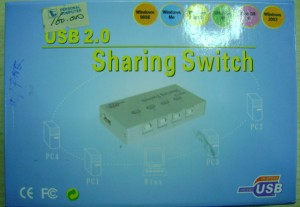 Sharing Switch USB2.0 1-4 ports (unbranded)