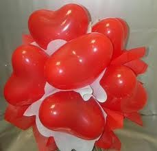 Balon Love Valentine Unik