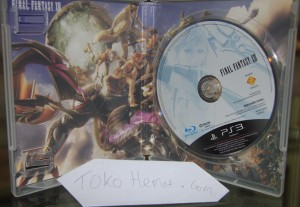 Final Fantasy XIII Chinese Version Blue Ray Disc Original Imported