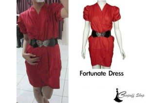 CODE : Fortunate Dress (Free belt)