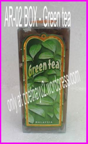Incense Cone - Green Tea