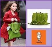 Manuella Bag Dog Green