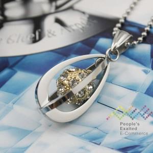 Kalung Gold Diamond Ball