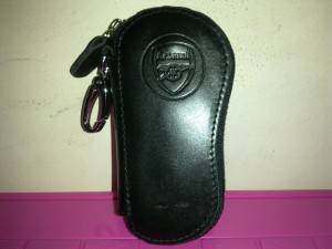 Dompet G Kunci Kulit Foot Shape - Arsenal