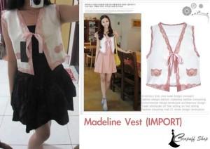 CODE : Madeline Vest (IMPORT)