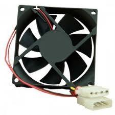 Fan casing hitam 8cm