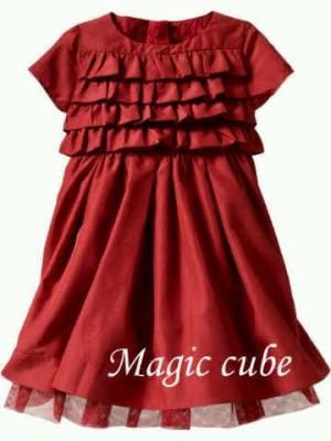 Gap Magic Cube Red Dress