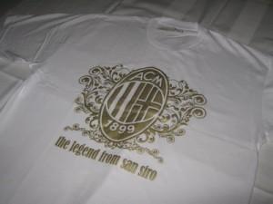 Kaos Milan Putih