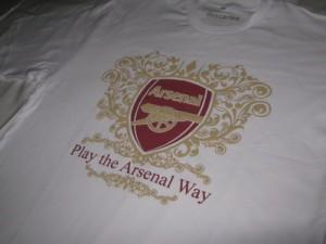 Kaos Arsenal Putih