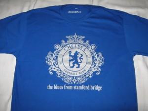 Kaos Chelsea Biru