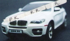 RC BMW X6  1:24