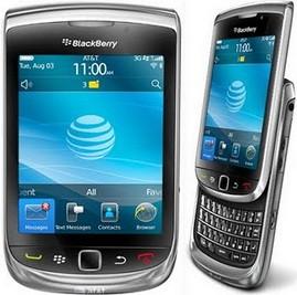Blackberry Torch Black 9800 garansi berrindo 2th