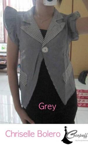 CODE : Chriselle Bolero Grey