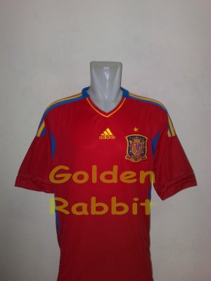 Jersey Qualification Euro 2012 Spain Home