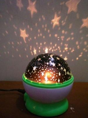 Proyektor Bintang Bulat ( Proyeksi bulan dan bintang )