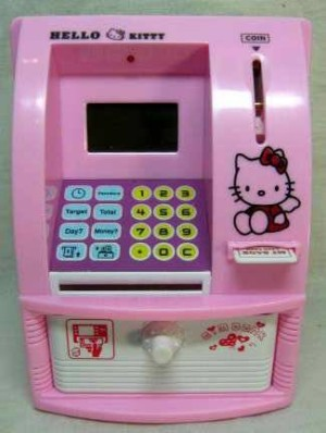 Jual Grosir Celengan Atm Mini Murah Bank Hello Kitty