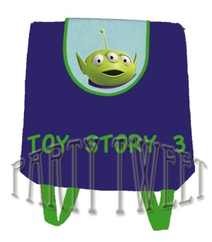 Goody Bag Ransel - Toy Story - Alien