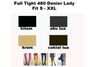 Stocking Full Tight 480 D Lady