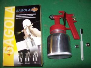 Spray Gun Sagola 472