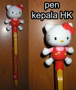 Pen Hello Kitty Kepala