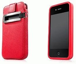 Capdase Original Value Set For IPhone 4G Red