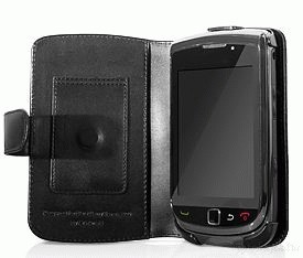 Capdase Original Leather Case BiFold For Blackberry 9800