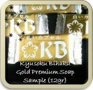 Kyusoku Bihaku Soap Sample