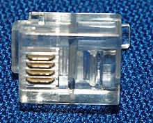Connector RJ 11 (Per 100 Pcs)
