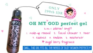Oh My God!! Perfect Gel ~ 6 In 1 Solution
