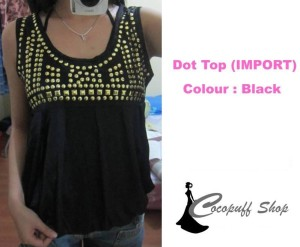 Code : Dot Top Black (IMPORT)
