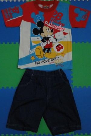 T-Shirt Mickey Be a Leader (Mickey Kids)